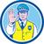 polis · memuru · imzalamak · yakışıklı · olgun · güvenlik · görevlisi - stok fotoğraf © patrimonio