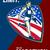 american marathon runner push limits retro poster stock photo © patrimonio