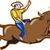 rodeo · cowboy · illustrazione · cavallo · farm · silhouette - foto d'archivio © patrimonio