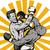 boxer connecting knockout punch stock photo © patrimonio