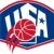 Egyesült · Államok · USA · amerikai · kosárlabda · labda · illusztráció - stock fotó © patrimonio