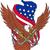 はげ · イーグル · アメリカンフラグ · 自然 · 鳥 · 星 - ストックフォト © patrimonio