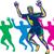 happy marathon runner running retro stock photo © patrimonio