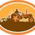 トラクター · フィールド · 青空 · ビジネス · 自然 · ファーム - ストックフォト © patrimonio