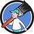 house painter paintbrush walking circle cartoon stock photo © patrimonio