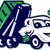 pesado · camión · automático · frente · vista · aislado - foto stock © patrimonio