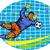 goleiro · feminino · jogador · de · futebol · mergulho · bola - foto stock © patrimonio