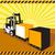 грузовика · современных · свет · оранжевый · цвета - Сток-фото © patrimonio