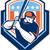 beisebol · liga · retro · ilustração · americano · jogador · de · beisebol - foto stock © patrimonio