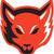 red fox head front stock photo © patrimonio
