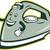 electric iron mascot thumbs up cartoon stock photo © patrimonio