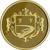 arany · címer · retro · izolált · vágási · körvonal · antik - stock fotó © patrimonio