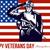 katona · amerikai · zászló · hátsó · nézet · égbolt · személy · vidék - stock fotó © patrimonio