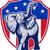 republican · elefant · mascota · SUA · pavilion · ilustrare - imagine de stoc © patrimonio