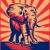 África · toro · elefante · ilustración · elefante · africano · retro - foto stock © patrimonio