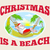 santa claus father christmas beach relaxing stock photo © patrimonio