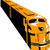дизельный · поезд · ретро · иллюстрация · ретро-стиле - Сток-фото © patrimonio
