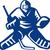 ice hockey goalie retro stock photo © patrimonio