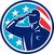 silhueta · exército · soldado · EUA · bandeira · abstrato - foto stock © patrimonio