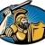 romano · soldado · lança · escudo · ilustração - foto stock © patrimonio