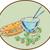 sandviç · ekmek · öğle · yemeği · fast-food - stok fotoğraf © patrimonio