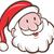 papai · noel · conjunto · feliz · tradicional · natal · isolado - foto stock © patrimonio