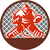 ice hockey goalie circle retro stock photo © patrimonio