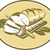 bread loaf with knife and board woodcut stock photo © patrimonio