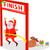 corrida · natal · feliz · isolado · branco - foto stock © patrimonio