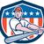 amerikan · beyzbol · oyuncusu · karikatür · örnek · stil · yalıtılmış - stok fotoğraf © patrimonio