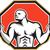 crossfitの · 男 · ケトルベル · トレーニング · 行使 - ストックフォト © patrimonio