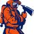fireman fire fighter holding an ax stock photo © patrimonio