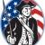 American Patriot Minuteman With Bayonet Rifle And Flag stock photo © patrimonio