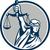 senhora · balança · justiça · ilustração · conjunto - foto stock © patrimonio