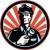 警備員 · 懐中電灯 · レトロな · 実例 · 警察官 - ストックフォト © patrimonio