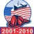 911 · amerikai · zászló · iker · tornyok · tűzoltó · kalap - stock fotó © patrimonio
