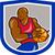 человека · пейзаж · баскетбол · команда · белый - Сток-фото © patrimonio