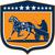 jockey · carreras · de · caballos · ilustración · bajo · vista · aislado - foto stock © patrimonio