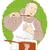 mężczyzna · kucharz · gotować · pan · łyżka - zdjęcia stock © patrimonio