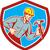 builder carpenter shouting hammer shield retro stock photo © patrimonio