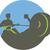 ローイング · マシン · 3dのレンダリング · 男 · スポーツ · フィットネス - ストックフォト © patrimonio