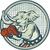 republican elephant boxer mascot circle etching stock photo © patrimonio