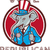 republicano · elefante · 3d · render · pintado · símbolo · festa - foto stock © patrimonio