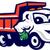 トラック · コンピュータ · 生成された · 3次元の図 · 孤立した · 白 - ストックフォト © patrimonio