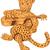 jaguar · kamera · çim · gözler - stok fotoğraf © patrimonio