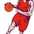 człowiek · krajobraz · koszykówki · zespołu · biały - zdjęcia stock © patrimonio