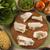 domuz · ahşap · gıda · kırmızı · beyaz - stok fotoğraf © paulovilela