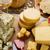 diferente · delicioso · comida · fundo · azul - foto stock © paulovilela