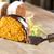 bolo · de · chocolate · tabela · bolo · de · cenoura · bolo · branco · cozinhar - foto stock © paulovilela