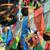 colorido · jugador · bandera · vuelo · China · montana - foto stock © paulwongkwan